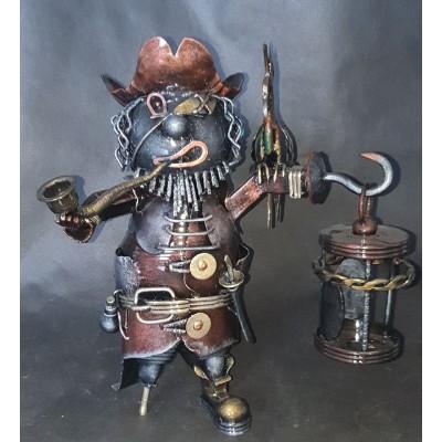 """Кованая статуэтка-сувенир """"Пират"""""""