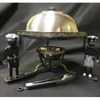 Садж кованый для подачи шашлыка VIP