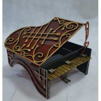 """Кованая шкатулка """"Фортепиано"""""""