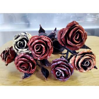 Кованная роза 0001